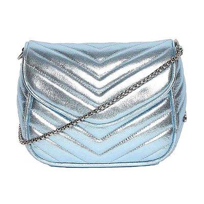 Bolsa de Couro Griffazzi Azul