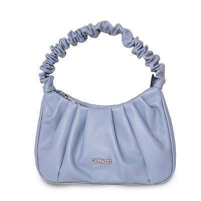 Bolsa de Couro Griffazzi Azul Celeste