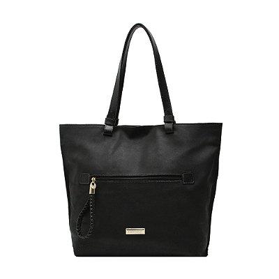 Bolsa Shopping Bag Couro Griffazzi Preto