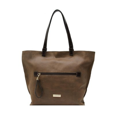 Bolsa Shopping Bag Couro Griffazzi Marrom