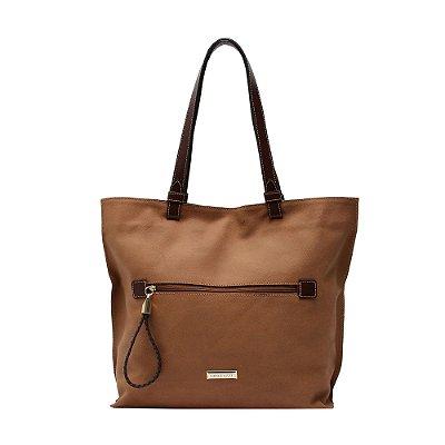 Bolsa Shopping Bag Couro Griffazzi Caramelo