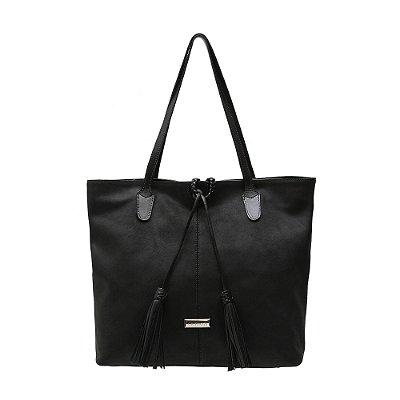 Bolsa Shopping Bag Griffazzi Preta