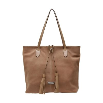 Bolsa Shopping Bag Griffazzi Nude