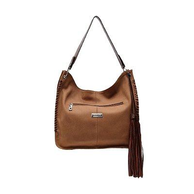 Bolsa Griffazzi Couro Shopping Bag Caramelo