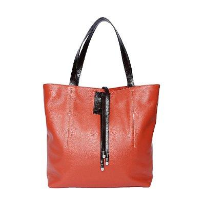 Shopping Bag em Couro Griffazzi