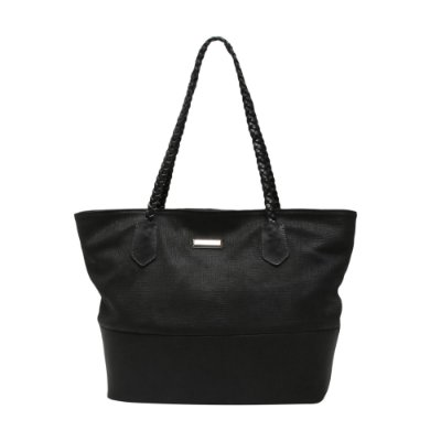Bolsa Griffazzi Couro Shopping Bag Preta
