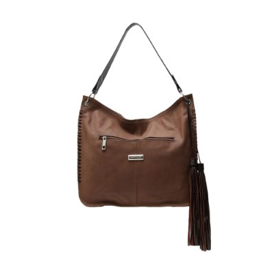 Bolsa Griffazzi Couro Shopping Bag Marrom