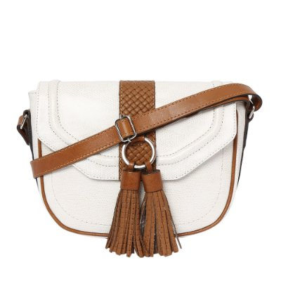 Bolsa de Couro Griffazzi Marfim
