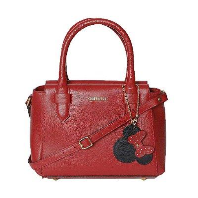 Bolsa de Couro Griffazzi Vermelho