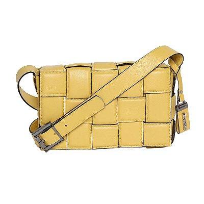Bolsa de Couro Griffazzi Amarelo