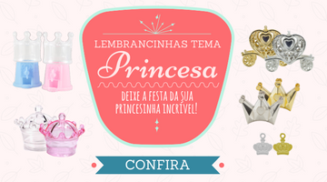 Lembrancinhas princesa
