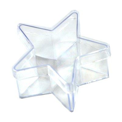Caixinha de Acrilico Estrela 7x4 (10 unid.)