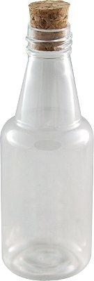 Garrafinhas para Lembrancinhas 50 ml Plastica com Rolha (10 unid.)