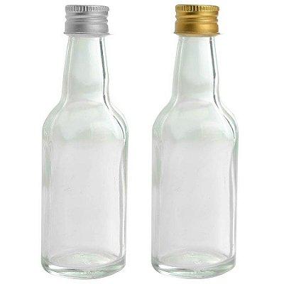 Garrafinhas para Lembrancinhas 50 ml de vidro (10 unid.)