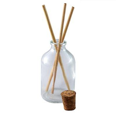 Vidro para Aromatizador com Rolha 50 ml (10 unid.)