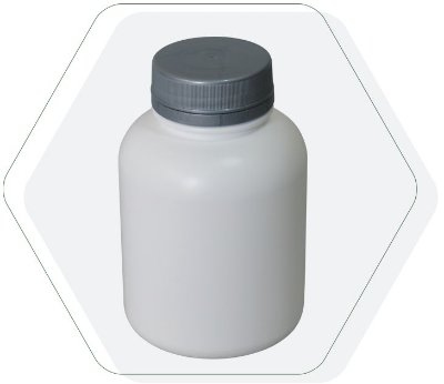 Pote Plastico para cápsula 240 ml Rosca Lacre (10 unid.)