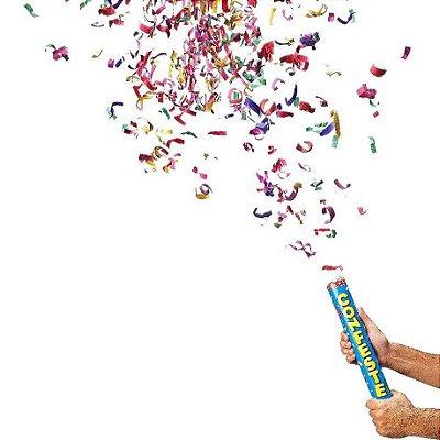 Lança Confete de Papel Colorido 30 cm (1 unid.)