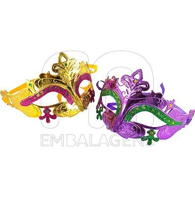 Máscara Veneziana para Festas a Fantasia (1 unid.)