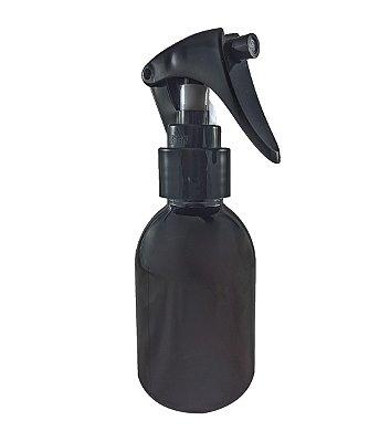 Frasco âmbar plástico Spray Borrifador de 100 ml kit com 10unid
