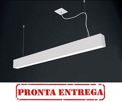 PRONTA ENTREGA / Pendente Retangular Slim Acrílico 65x8 Tropical Usina Design T8 4006/65f Entradas e Salas