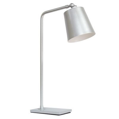 Abajur Luminária de Mesa Alumínio Bivolt Estudo 60cm de Altura Brida Golden Art G9 M760 Cabeceiras e Mesas