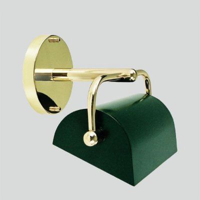 Arandela Interna Vintage Dourada Inox Cúpula Calha Pintada 20cm Golden Art G9 P385 Quartos e Salas