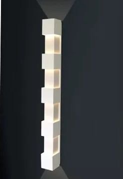 Arandela Externa Luminária 90x100 Parede Muro Quintal Jardim Varanda Garagem 5246/100 Usina