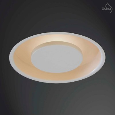 Plafon Redondo Embutido Branco Bivolt Ø38 Eclipse Usina Design G9 241/3 Cozinhas e Quartos