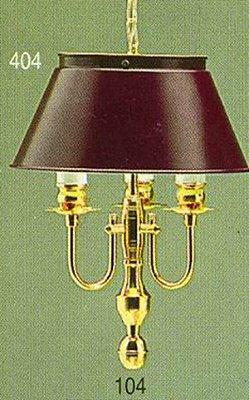 Pendente Inglês Vintage Dourado Cúpula Colorida 3 Lâmpadas 26x41 Golden Art E-27 T012 Salas e Hall