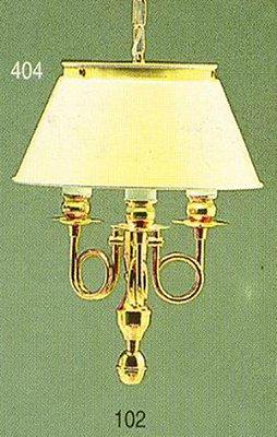 Pendente Inglês Vintage Torcido Metal Dourado Cúpula Branca 3 Lâmpadas 26x41 Golden Art E-27 T010 Entradas e Sala