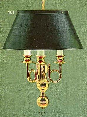 Pendente Inglês Vintage Torcido Metal Dourado Cúpula Colorida 3 Lâmpadas 40x53 Golden Art E-27 T009 Salas e Hall