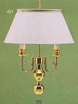 Pendente Inglês Vintage Torcido Metal Dourado Cúpula Branca 2 Lâmpadas 40x53 Golden Art E-27 T007 Entradas e Salas