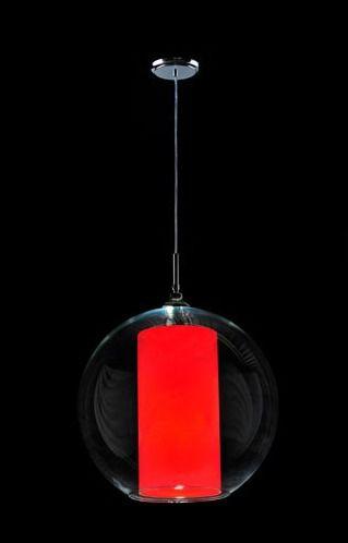 Pendente Globo Vidro Ø30 Luminária Led Teto Sala Jantar Quarto Cozinha 853 Torres