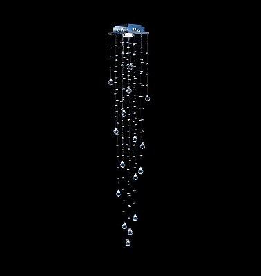 Spot Plafon Cristal Legítimo 18x18 Sala Salão Estar Comercial Quarto Qu-001 L DNA