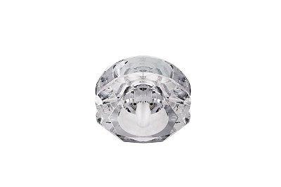 Spot Embutido Luminária Cristal Transparente Sala Quarto Teto Loja Decorativo Zg228 Luciin.