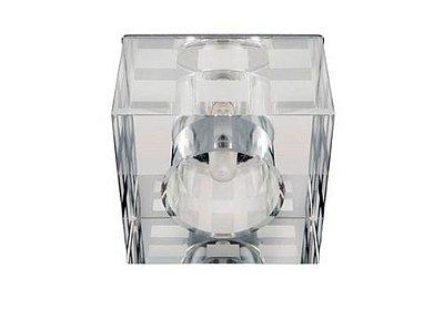 Spot Embutido Cristal Transparente Quarto Teto Comercial Decorativo Zg231 Luciin