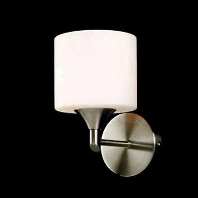 Arandela Snow Glass 1 Braço 20x12cm Mantra 1 E27 2556 Corredores e Entradas