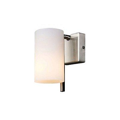 Arandela Snow Glass 1 Braço 16x12cm Mantra 1 E27 2558 Corredores e Entradas