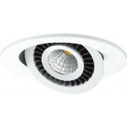 Spot Embutido Downlight Orbit Branco LED 3,6x12cm Mantra LED 7W Bivolt 30156 Salas e Comercial