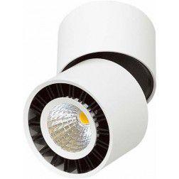 Spot Sobrepor Focus Branco LED 16,3x7,6cm Mantra 1 LED 12W 30158 Salas e Comercial