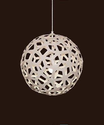 Pendente Sena Vertical Decorativo Esfera Branco 62x60cm Mantra 1 E27 40W Bivolt 30463 Salas e Quartos