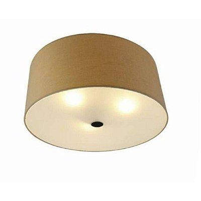 Plafon Argi Redondo Cupula Metal Envelhecido 26,5x60cm Mantra 3 E27 23W Bivolt 5214 Salas e Quartos