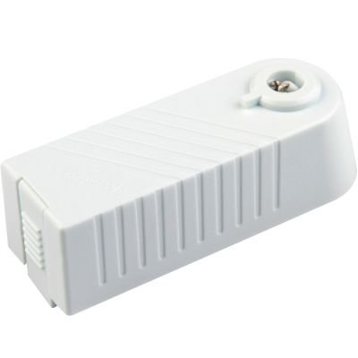 Transformador para Trilho Metal Branco Bella Iluminação Tensão 220V Potencia 80W DL021B-220V