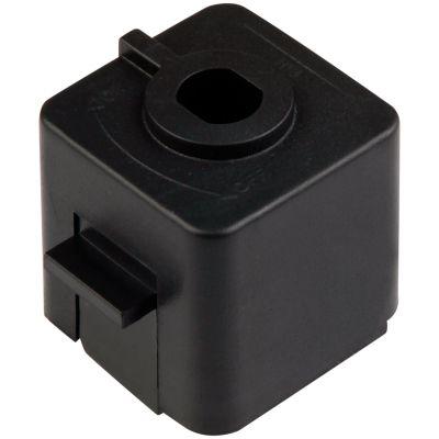 Adaptador para Trilho Metal Preto DL022P Bella Iluminação