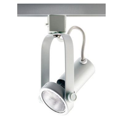 Spot Basic Trilho Direcionável Metal Branco 18x7cm Bella Iluminação 1x PAR 20 Bivolt DL030B Salas e Cozinhas