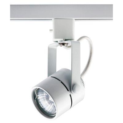 Spot Pharos Trilho Direcionável Metal Branco 11x5,5cm Bella Iluminação 1x Dicróica Bivolt DL032B Salas e Cozinhas