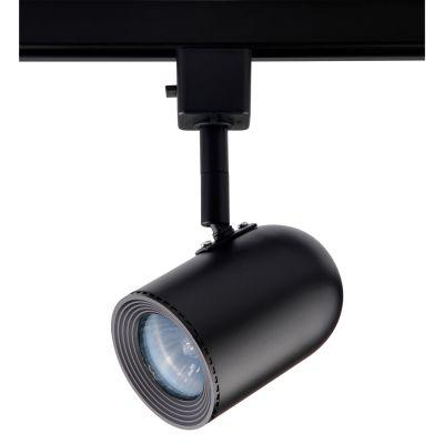 Spot Pharos Trilho Direcionável Metal Preto 11x5,5cm Bella Iluminação 1x Dicróica Bivolt DL034P Cozinhas e Salas