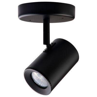 Spot Beam Canopla Direcionável Metal Preto 11x5,5cm Bella Iluminação 1 GU10 Dicróica DL045P Salas e Quartos