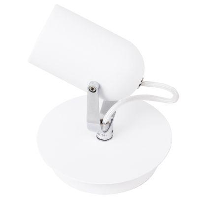 Spot Actio Direcionável Alumínio Branco 14,5x13cm Bella Iluminação 1 GU10 Dicróica Bivolt FH001B Salas e Cozinhas