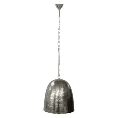 Pendente Fatsa Sino Metal Cromado Vertical 21x20cm Bella Iluminação 1x E27 Bivolt GP001C Escritórios e Quartos